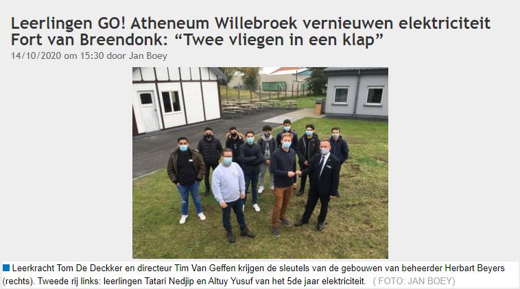 ARTIKEL: project Fort van Breendonk